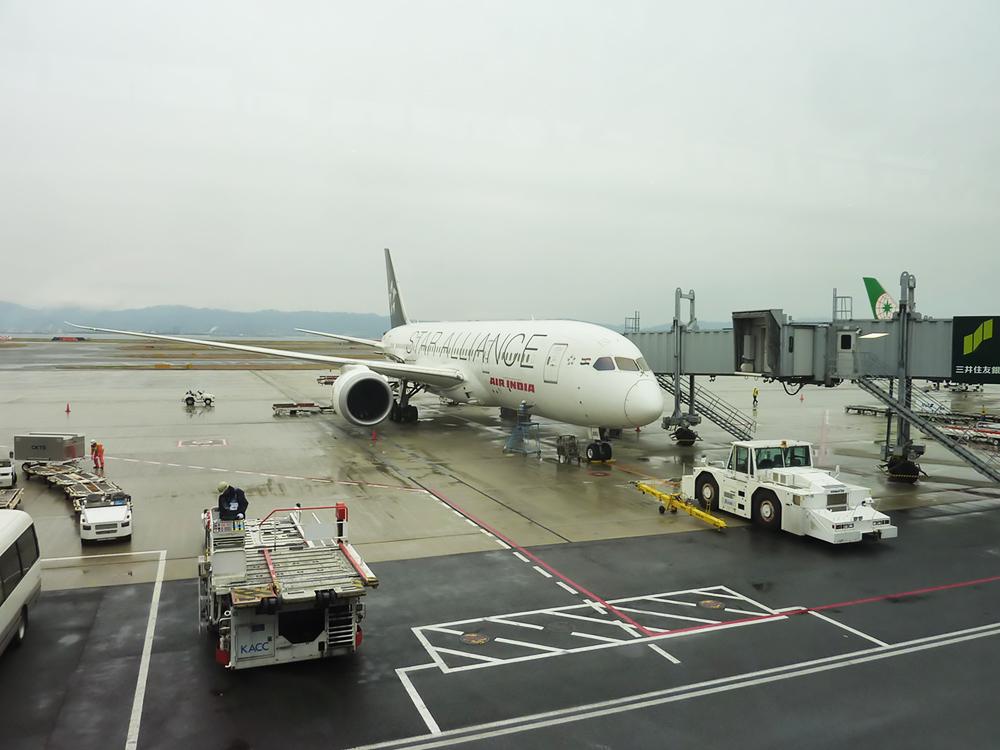 ボーイング788機(関西空港)/イメージ